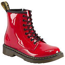 Buy Dr Martens Delaney Patent Boots Online at johnlewis.com