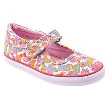 Buy Start-rite Children's Tutti Fruity Shoes, White/Multi Online at johnlewis.com
