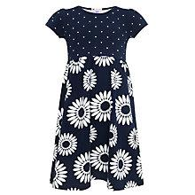 Buy John Lewis Girl Floral Jersey Dress Online at johnlewis.com