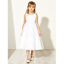 Buy John Lewis Girl Floral Corsage Bridesmaid Dress, Ivory Online at johnlewis.com