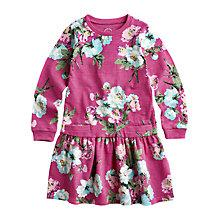 Buy Little Joule Girls' Bangles Floral Jersey Dress, Pink Online at johnlewis.com