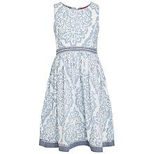 Buy Derhy Kids Girls' Cyreielle Patterned Dress, Blue Online at johnlewis.com