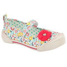Buy John Lewis Girl Olivia Floral Mary Jane Shoes, Multi Online at johnlewis.com