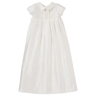 Buy John Lewis Unisex Long Christening Gown, Cream Online at johnlewis.com