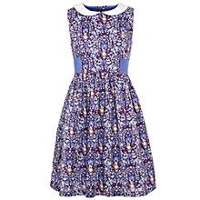 Buy John Lewis Girl Daisychain Print Dress, Purple Online at johnlewis.com