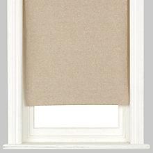 Buy John Lewis Natural Canvas Blackout Roller Blind Online at johnlewis.com