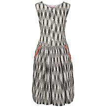 Buy Loved & Found Girls' Aztec Neon Trim Dress, Grey Online at johnlewis.com