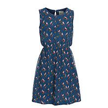 Buy Yumi Girl Chiffon Sparrow Print Dress Online at johnlewis.com