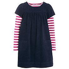 Buy John Lewis Girl Pinafore & T-Shirt Set, Navy/Pink Online at johnlewis.com