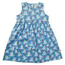 Buy Frugi Girls' Patterned Organic Cotton Dress Online at johnlewis.com