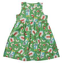 Buy Frugi Girls' Patterned Organic Cotton Dress Online at johnlewis.com
