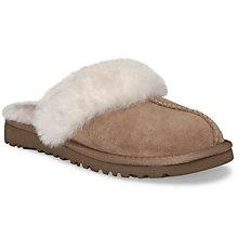 Buy UGG Children's Cozy Mule Slippers, Chestnut Online at johnlewis.com