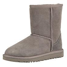 Buy UGG Children's Classic Short Boots Online at johnlewis.com