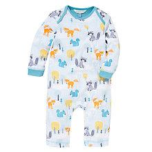 Buy John Lewis Baby Woodland Print Romper, Multi Online at johnlewis.com