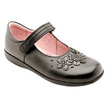 Buy Start-rite Fleur Leather Shoes, Black Online at johnlewis.com