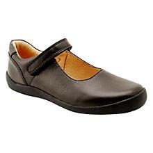 Buy Start-rite Alicia Leather Shoes, Black Online at johnlewis.com