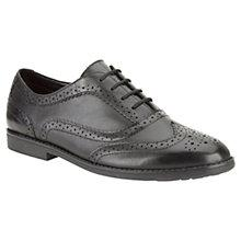 Buy Clarks Childrens' Della Luxe Shoes, Black Online at johnlewis.com