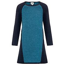 Buy Kin by John Lewis Girls' Knit Jumper Dress, Green Online at johnlewis.com