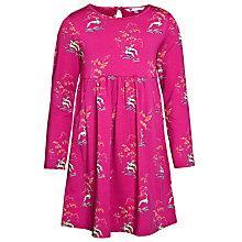 Buy John Lewis Girl Jersey Dress, Pink Online at johnlewis.com