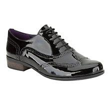Buy Clarks Hamble Patent Leather Brogue Shoes Online at johnlewis.com