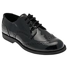 Buy Start-rite Children's Burford Patent Leather Shoes, Black Online at johnlewis.com