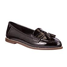 Buy John Lewis Esme Tassel Loafers, Black Online at johnlewis.com