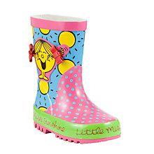 Buy John Lewis Little Miss Sunshine Wellington Boots, Multi Online at johnlewis.com