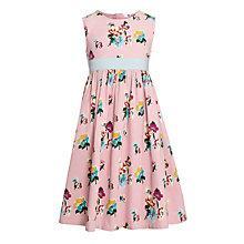 Buy John Lewis Girl Floral Print Prom Dress, Pink Online at johnlewis.com