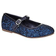 Buy John Lewis Gloria Glitter Shoe Online at johnlewis.com