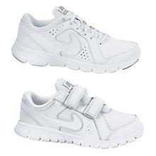 Buy Nike Flex Experience Trainers, White Online at johnlewis.com