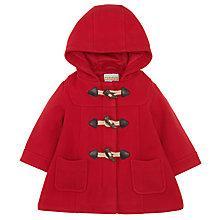 Buy John Lewis Duffle Coat, Red Online at johnlewis.com