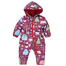 Buy Hatley Baby Woodland Print Snowsuit, Multi Online at johnlewis.com
