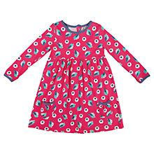 Buy Frugi Baby Birdie Floral Maddie Dress, Pink/Multi Online at johnlewis.com