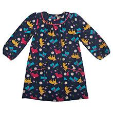 Buy Frugi Girls' Isa Cat Dress, Blue/Multi Online at johnlewis.com