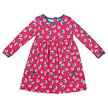Buy Frugi Girls' Bird Dress, Pink Online at johnlewis.com