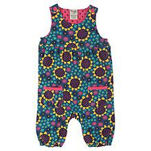 Buy Frugi Baby Floral Willow Dungarees, Multi Online at johnlewis.com