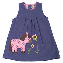 Buy Frugi Baby Alice Pony Dress, Purple Online at johnlewis.com