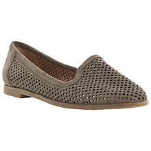 Buy Berite Langham Laser Cut Out Suede Slipper Shoes Online at johnlewis.com