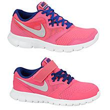 Buy Nike Flex Experience Trainers, Pink Online at johnlewis.com