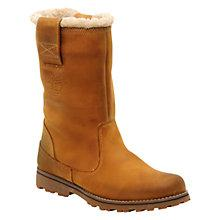 Buy Timberland Pull-On Shearling Boots, Bronze Online at johnlewis.com