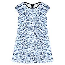 Buy Jigsaw Junior Girls' Batik Print Shift Dress, Blue Online at johnlewis.com