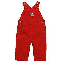 Buy John Lewis Train Dungaree, Red Online at johnlewis.com