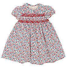 Buy John Lewis Berry Print Smock Dress, Cream/Multi Online at johnlewis.com