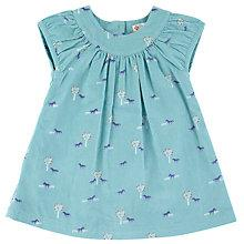 Buy John Lewis Cord Pony Pinafore Dress, Teal Online at johnlewis.com