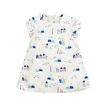 Buy John Lewis Mountain Scene Corduroy Dress, Cream/Multi Online at johnlewis.com