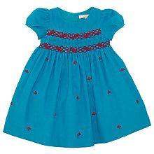 Buy John Lewis Berry Smock Dress, Blue Online at johnlewis.com