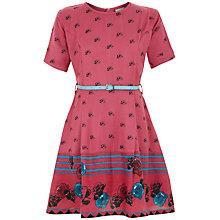 Buy Yumi Girl Teacup Print Dress, Pink Online at johnlewis.com