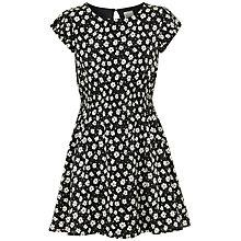 Buy Yumi Girl Daisy Sun Dress, Black Online at johnlewis.com
