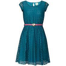 Buy Yumi Girl Lace Heart Belt Dress Online at johnlewis.com