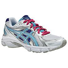 Buy Asics GEL Galaxy 7 Children's Trainers, White/Multi Online at johnlewis.com
